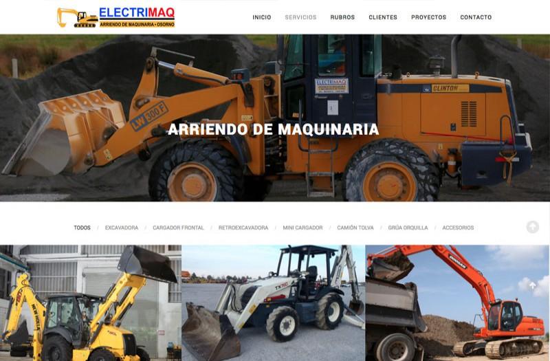 Electrimaq - WDesign - Diseño Web Profesional