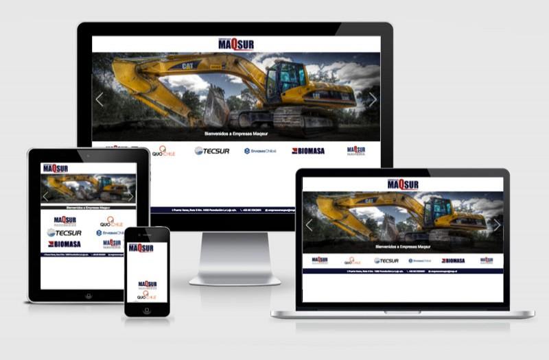 MAQSUR - WDesign - Diseño Web Profesional