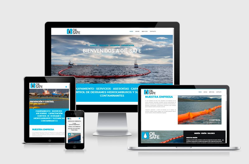 Oil Safe - WDesign - Diseño Web Profesional